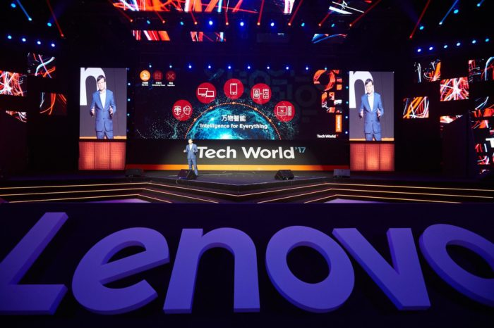 Lenovo podczas Tech World 2017 prezentuje wizje produktów przyszłości - jak sztuczna inteligencja zmieni nasz sposób życia i pracy?