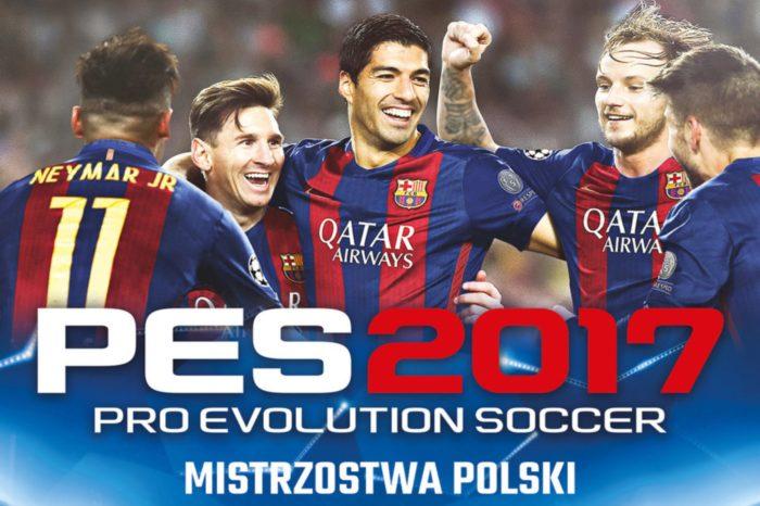 Mistrzostw Polski w Pro Evolution Soccer PES 2017, już 12 sierpnia podczas imprezy Cracow Game Days 2017.