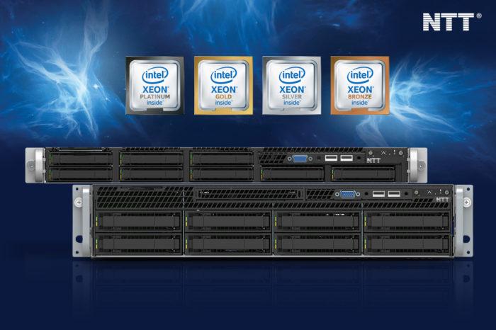 NTT System wprowadza produkty wykorzystujące nową architekturę serwerową Intel Xeon Processor Scalable.