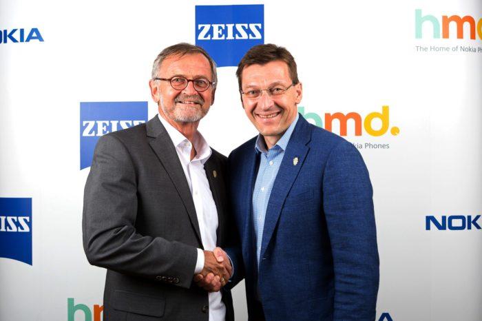 HMD Global - Nowa wyłączna umowa partnerska z firmą ZEISS, smartfony NOKIA z nowatorskimi rozwiązaniami optycznymi firmy ZEISS.