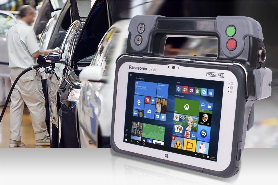 Panasonic i Volkswagen opracowali mobilne rozwiązanie do testowania pojazdów AMTS - Automotive Mobile Test Solution.