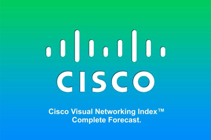 Globalny ruch IP wzrośnie trzykrotnie do roku 2021 - wynika z najnowszego raportu Cisco VNI (Visual Networking Index™) Complete Forecast.