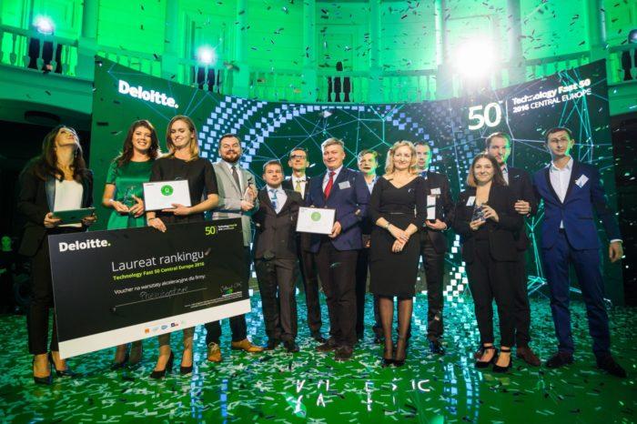 """Ruszyła rejestracja do jubileuszowej, 20. edycji """"Deloitte Technology Fast 50 Central Europe"""", rankingu najszybciej rozwijających się firm technologicznych w Europie Środkowej."""