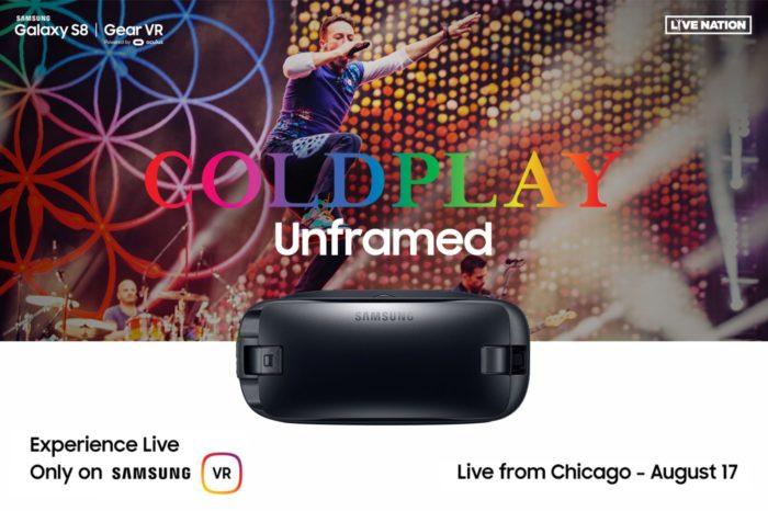 To już dziś! Koncert Coldplay transmitowany na żywo w wirtualnej rzeczywistości! Zapraszają Samsung i firma Live Nation!