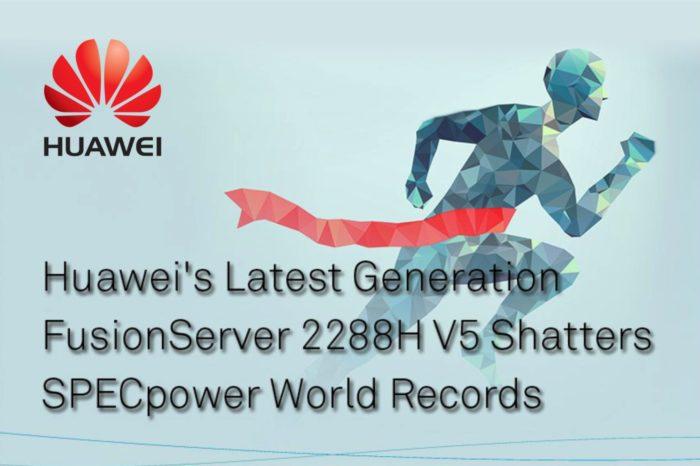 Najnowszy serwer HUAWEI – FusionServer 2288H V5 pobił rekord wydajności serwerów SPECpower_ssj® 2008.