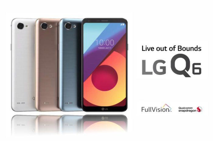 LG Q6 - pierwszy smartfon klasy średniej z ekranem FullVision już od dziś dostępny w Polsce