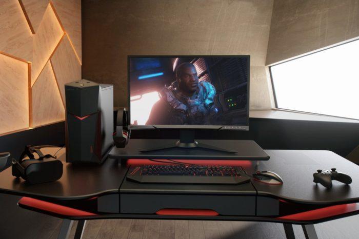 Gamescom 2017 - Premiera gamingowych komputerów Lenovo™ Legion Towers Y920, Y720, Y520 i monitora do gier Lenovo Legion Y25f.