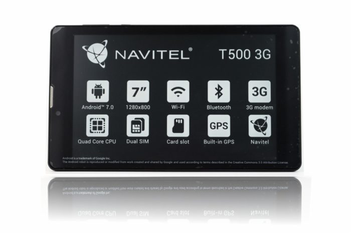 Firma NAVITEL wprowadza na rynek tablet T500 3G z funkcją nawigacji, telefonu, z gwarancją door-to-door, w bardzo atrakcyjnej cenie.