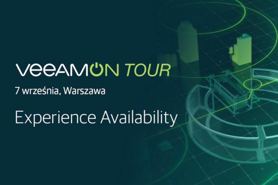 Veeam zapowiada najważniejszą konferencję poświęconą dostępności usług IT w Polsce – VeeamON Tour 2017.