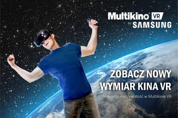Wirtualna rzeczywistość wkracza do polskich kin. W Multikinie Złote Tarasy, powstała specjalna sala kinowa - pierwsze seanse już 4 sierpnia!
