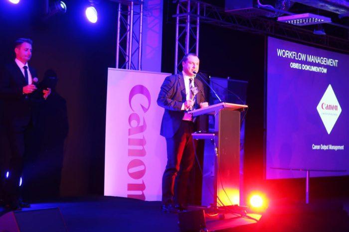 "Canon Polska laureatem nagrody Lider IT 2017, w kategorii ""Workflow Management"" podczas targów IT FUTURE EXPO."