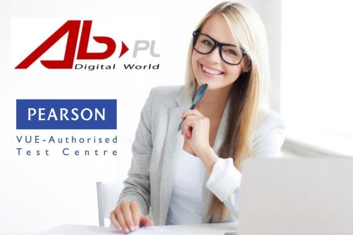 Centrum Kompetencyjne AB S.A. – uzyskało status certyfikowanego ośrodka egzaminacyjnego Pearson VUE.