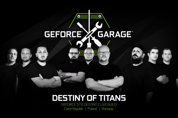GeForce Garage: Destiny of Titans - Polska, Czechy i Rumunia, zaprezentują na żywo swoje umiejętności w modyfikacji komputerów nawiązujących do gry Destiny 2.
