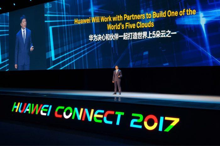 HUAWEI podczas HUAWEI CONNECT 2017 w Szanghaju ogłosił, że chce stać się jednym z pięciu głównych dostawców chmury na świecie.