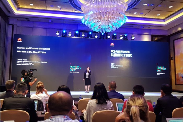 Huawei wraz z partnerami i klientami z listy Fortune Global 500 przedstawia: Strategię rozwoju platformy i ekosystemu przyspieszającego transformację cyfrową.