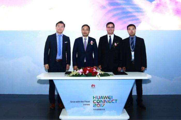Podczas HUAWEI CONNECT 2017 w Szanghaju, HUAWEI i Microsoft podpisały porozumienie na temat współpracy w chmurze.