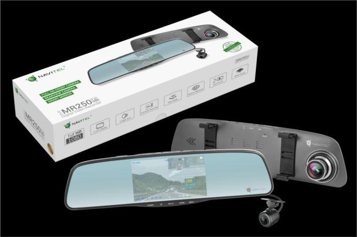 Najnowsze urządzenie firmy NAVITEL już w sprzedaży - Innowacyjne lusterko samochodowe z wideorejestratorem oraz kamerą cofania.