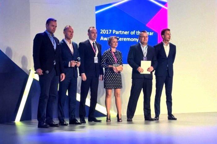 "AB S.A. podczas konferencji Microsoft Partner Strategy Conference nagrodzona przez Microsoft tytułem ""2017 Partner of the Year"" w kategorii dystrybutor."