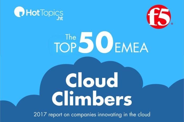 """Raport """"Top 50 EMEA Cloud Climbers Report"""" - 50 najbardziej innowacyjnych spółek, zajmujących się rozwiązaniami chmurowymi z rejonu EMEA."""