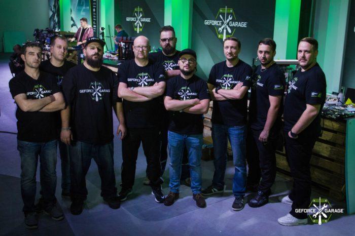 GeForce Garage: Destiny of Titans – Zawodnicy z Czech, Polski i Rumunii zaprezentowali na żywo, umiejętności w modyfikacji komputerów nawiązujących do gry Destiny 2.