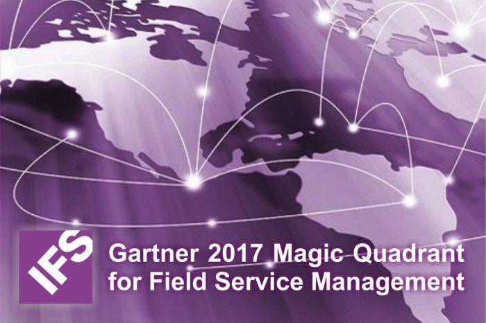 """IFS liderem w raporcie """"Gartner 2017 Magic Quadrant for Field Service Management"""" w kategorii zarządzania usługami serwisowymi w terenie."""