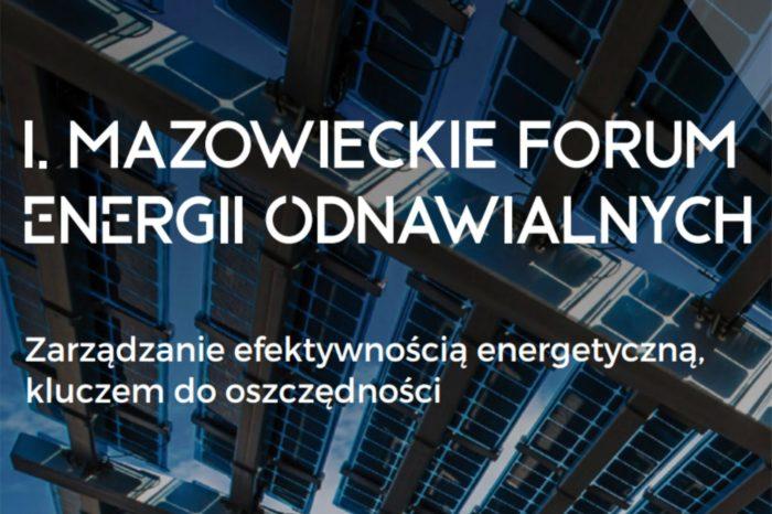 I Mazowieckie Forum Energii Odnawialnej - Sieć IoT w budynku daje oszczędność energii i środków. Rozmowa z Bartoszem Trzcińskim.