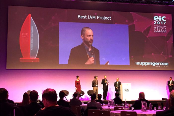 """Rozwiązania One Identity z nagrodą od KuppingerCole w kategorii """"Best Identity and Access Management"""" podczas XI edycji konferencji European Identity & Cloud (EIC)."""