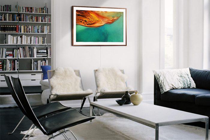 Sztuka wkracza do domu z telewizorem Samsung The Frame - inspiracji każdego dnia, bez wychodzenia z domu.