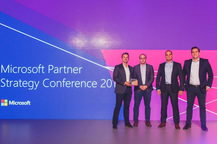 Senetic nagrodzony tytułem Partnera Roku firmy Microsoft w segmencie MŚP 2017, podczas konferencji Microsoft Partner Strategy Conference