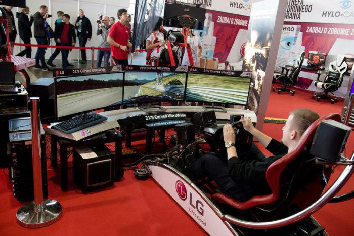 Najszybsze monitory gamingowe od LG, które pozwalają uzyskać przewagę w e-sporcie zadebiutowały w akcji podczas PGA 2017.