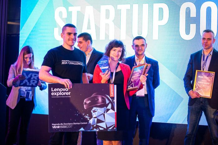 Zwycięzcą Startup Contest trzeciej edycji European VR/AR Congress, czyli konkursu którego celem było wyłonienie najbardziej innowacyjnego start-upu, zostało 1000 realities.