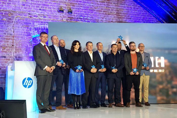 Firma HP Inc podczas uroczystej gali HP Partner Excellence Award 2017 w Warszawie, nagrodziła najlepsze firmy partnerskie.