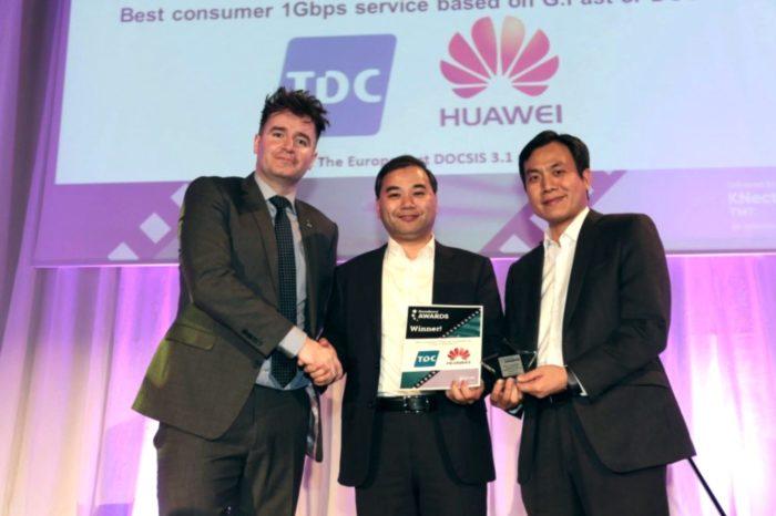 HUAWEI z trzema nagrodami na Broadband World Forum 2017, największego na świecie wydarzenia poświęconego globalnej sieci szerokopasmowej.