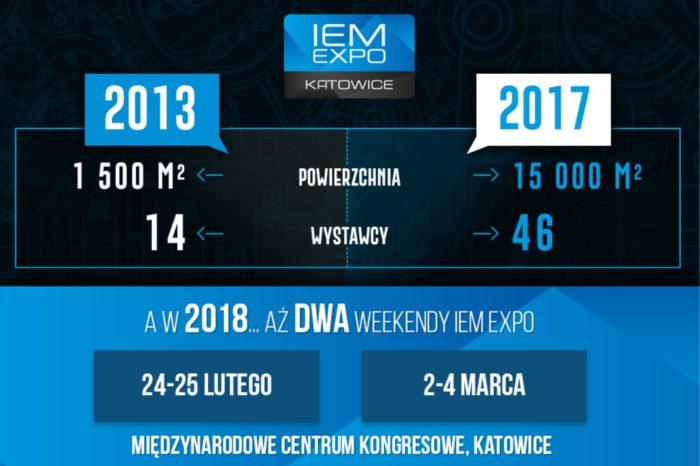 Jak rozwijało się IEM Expo – największe w Polsce targi utrzymane w tematyce gamingu i esportu, towarzyszące Intel Extreme Masters w Katowicach.
