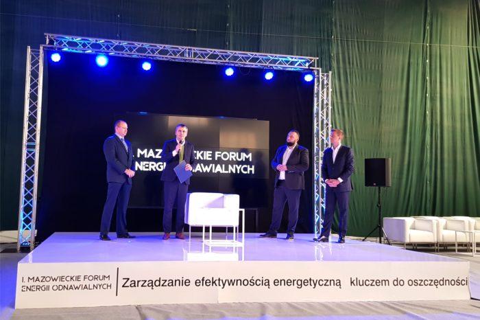 I Mazowieckie Forum Energii Odnawialnych - Co wspólnego ma IT VAD z energią odnawialną? - Branża energetyczna to doskonały kanał sprzedaży dla rozwiązań IT.