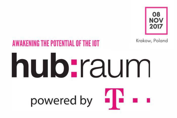 hub:raum IoT Academy (inkubator przedsiębiorczości Deutsche Telekom) wspierane przez T‑Mobile Polska, odbędzie się 8 listopada 2017 w Krakowie.