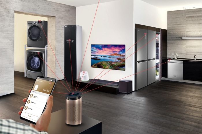 Apartamenty przyszłości z ekosystemem inteligentnych rozwiązań - LG Electronics integruje nowe technologie z innowacyjną platformą IoT.