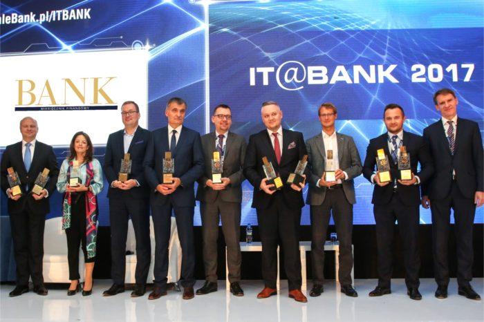 Podczas tegorocznej edycji konferencji IT@BANK, wyróżniono najlepszych dostawców rozwiązań IT dla sektora bankowego.