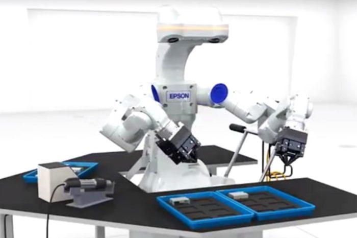 Najnowszy autonomiczny, dwuramienny robot od firmy Epson wchodzi na rynek - Premiera WorkSense W-01 już tej zimy!
