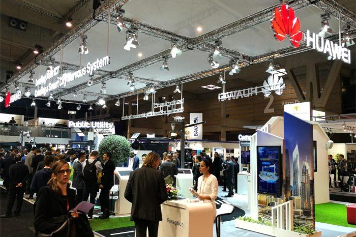 """Huawei podczas targów CeBIT 2018 w Hanowerze zaprezentował nowa platformę Smart City Digital zgodną z koncepcją firmy """"Platforma + Ekosystem""""."""