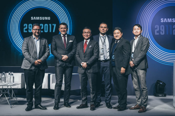 SAMSUNG podczas konferencji dla partnerów Mobile B2B, której głównym tematem były rozwiązania SAMSUNG KNOX, nagrodził najlepsze firmy partnerskie.