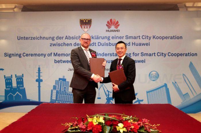 Huawei ogłasza plan budowy Joint Innovation Center dla rozwoju Smart City - Duisburg ma stać się modelowym innowacyjnym w pełni cyfrowym miastem Europy Zachodniej.