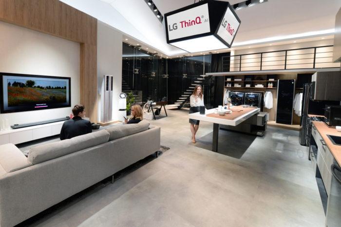 LG Electronics rozwija rynek nowych produktów wykorzystujących sztuczną inteligencję w technologii DeepThinQ.