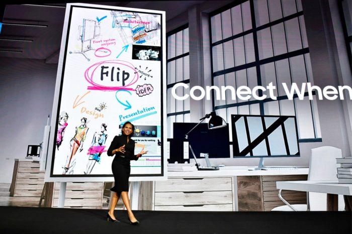 Samsung Flip – interaktywny cyfrowy flipchart, który wniesie nową jakość i zmieni oblicze spotkań biznesowych.