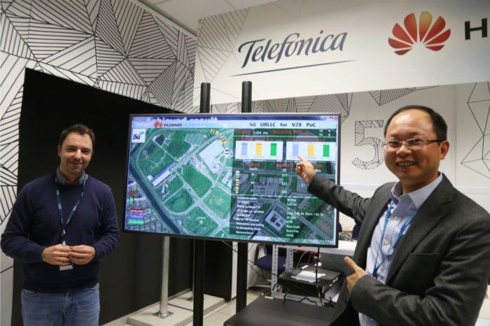 Telefónica i HUAWEI rozwijają wspólnie technologię na rzecz autonomicznych pojazdów - Testy odbyły się w laboratorium 5G Joint Innovation Lab w Madrycie.