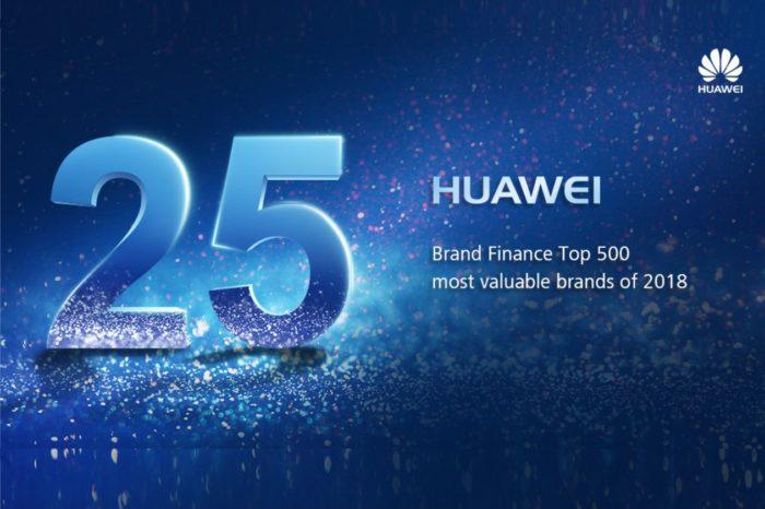 Huawei mocno w górę w rankingu najcenniejszych marek! Awans na 25. miejsce w prestiżowym Brand Finance Global 500 2018.