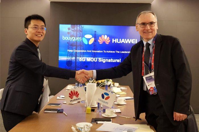Huawei i Bouygues Telecom ogłosiły podczas tegorocznych targów MWC w Barcelonie współpracę na rzecz rozwoju sieci 5G - pierwsze testy sieci 5G we Francji.
