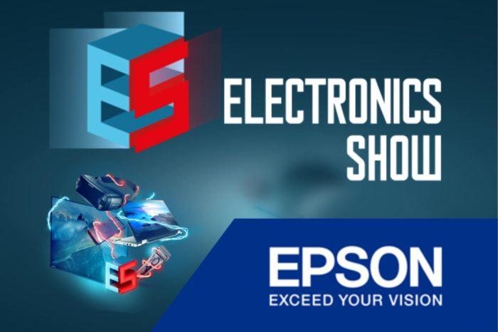 Epson podczas Międzynarodowych Targów Elektroniki Użytkowej - Electronics Show 2018 zaprezentuje najnowocześniejsze rozwiązania zarówno dla domu jak i do biura.