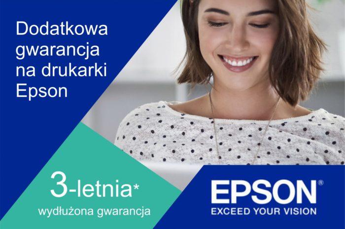 Epson przedłuża gwarancyjną ofertę promocyjną o kolejne 12 miesięcy - Uatrakcyjniając ofertę drukarek i urządzeń wielofunkcyjnych i z dumą dając wyraz zaufaniu w jakość swych produktów.