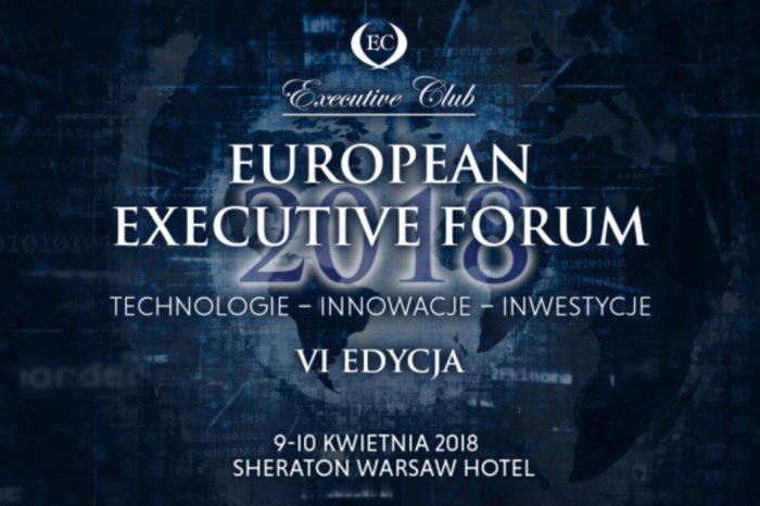 Canon głównym partnerem European Executive Forum 2018 - kolejny już raz do Warszawy przybędą polscy i zagraniczni eksperci ze świata biznesu, polityki i nauki.
